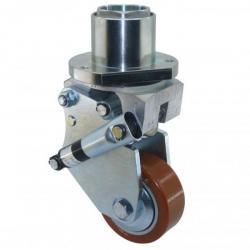 Roues et roulettes roulement roues pour transpalettes - Systeme de fixation pour cadres et tableaux ...