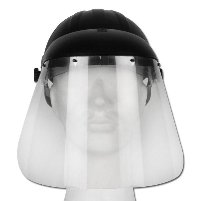 dd6201f5a137c Visière de protection Uvex pour le visage et la tête - transparente ...