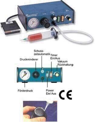 """Tropfendosiergerät """"ES 2266"""" - mit Vakuumpinzette - 110V oder 220V"""
