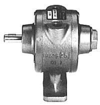 GAST tryckluftsmotor - 4 AM-FRV - arbetstryck 7 bar