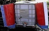 Isoliermantel för 1000 liter standardcontainer utan uppvärmning