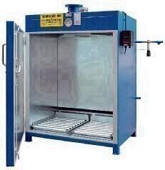 Värmekammare för 4 fat 200 l - 200°C temperaturområde