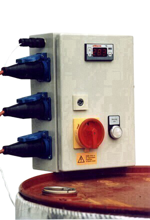 Control Cabinet For Barrel Heating 3 Cuffs