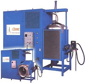 Depuratore  concentratore solventi autopulente EV225EX - ATEX con impianto vacuu