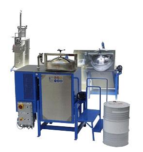 Återvinningsanläggning för lösningsmedel K200 - Ex-modell