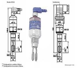 FTL 20 - Détecteur de niveau par vibration pour liquides