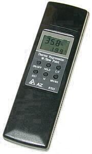 Przyrząd ręczny - Hygrostick 8703 - dla temperatury, wilgotności i punktu rosy