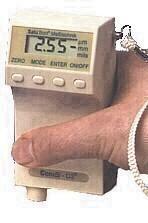 Schichtdickenmeßgerät SaluTron D4 -Fe  Meßbereich 0 -5000 µm für eisenhaltige me