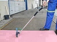 """Vibratory Roller """"VS"""" - For Large-Scale Laminate Compaction"""