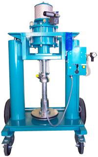 Press - 1-komponent - 1 pelare - med följeplatta