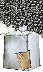 Blästermedel - stål - blästerkulor - flergångsanvändning - runda korn