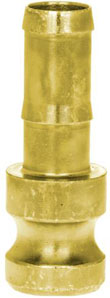 Mortar Coupling - Male Part With Hose Nozzle - DN 25 - Operating Pressure 50 Bar