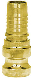 Mortar Coupling - Male Part With Hose Nozzle - DN 25 - Hydraulic Cover