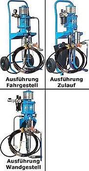 """Airless Spritzsystem """"PHOENIX 6530"""" - für mittel- und niederviskose Materialien"""