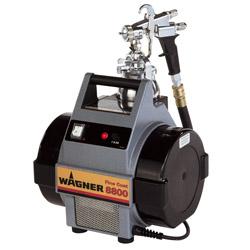 Niskie ciśnienie powietrza opryskiwaczy - Wagner FineCoat FC 8800 Spraypack - 230V - 0,36bar