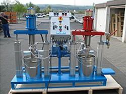 2-K Kolbendosieranlage - Mischungsverhältnis fest 1:0,93 - PN 170