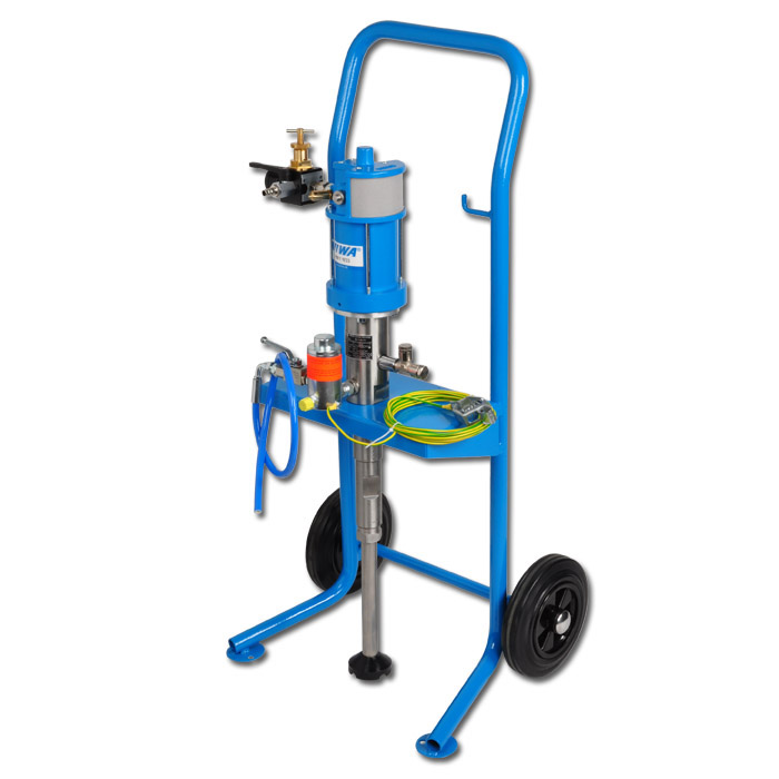 """Spraying Device """"WIWA PROFIT"""" With CART - For Low Or Medium Viscosity Materials"""