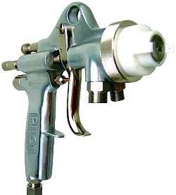 2-K sprutpistol, Pilot mixer-N - utvändig blandning