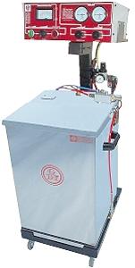 Pulverauftragssystem AN-10 - mit Pulverbehälter - auf Rollwagen