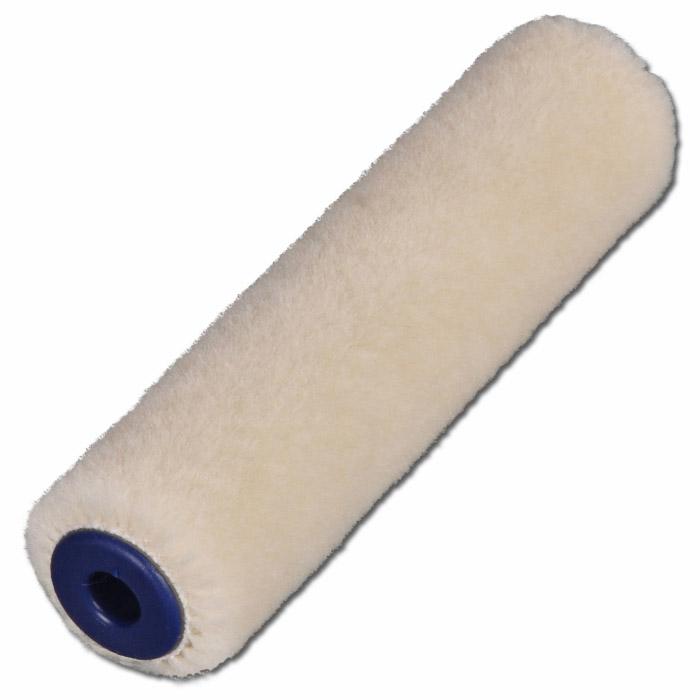 Roller - inner-Ø 16 mm - lackfärg - 5/10/15 cm bred - Velour