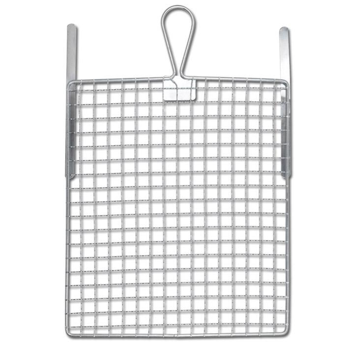 Abstreif-Gitter - Metall verzinkt - Maße 11 bis 26 cm x 21 bis 30 cm - mit Biegestreifen - VE 10 Stück - Preis per VE