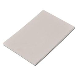 Spachtelplatte - Gummi - flexibel - 6,5x10 cm / 8x12cm