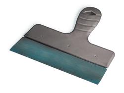 Fassadenspachtel - Größe 45 cm - aus Stahl - mit handlichem Kunststoffgriff