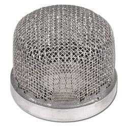 Vernice setaccio - Filtro aspirazione 20 di maglia - acciaio zincato per condotti di aspirazione 1