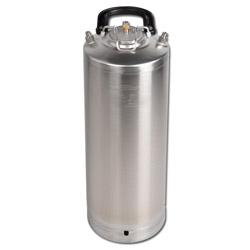 Material Druckbehälter - Edelstahl (Cola Behälter)