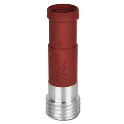 Sandstrahldüse Clemlite Siliziumcarbid - Düsen-Ø 8 bis 12,5 mm - Länge max. 235 mm - Einlass 25 oder 32 mm