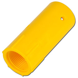Munstyckshållare i plast - för blästermunstycken med 25 mm grovgänga