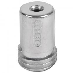 Strahldüse Borcarbid - klein - Düsen-Ø 3 bis 12 mm - Länge 40 mm - 25 mm Kordelgewinde