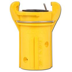 Blästerkoppling i plast - för slanganslutning Ø 19-42 mm, Slang ytter-Ø 38 - 60 mm