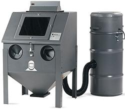 Blästerskåp - HM-24.0 - sugblästring - komplett utrustning - bordsmodell