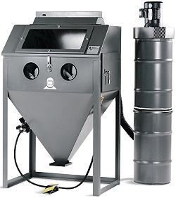 Blästerskåp - sugande bläster - HM-36.1 - komplett utrustning