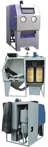 Blästerskåp - sugande industribläster - PULSAR III