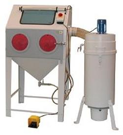 Blästerskåp - KIT-CAB - komplett utrustning - byggsats eller monterad