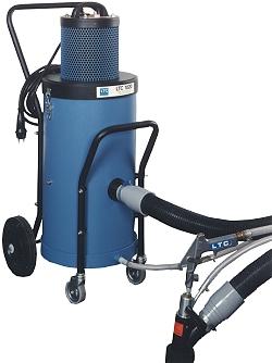 Kompakt-vakuum-sugblästringssystem - Modell LTC 1020