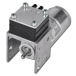 Membranpumpe - Modell 7010 DC - max. Vakuum 270 mbar - Saugleistung 6,5 l/min. - Motorspannung 12 V DC