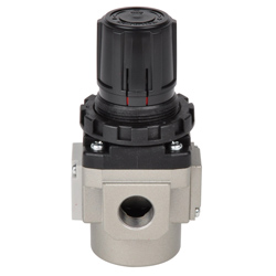 "SMC Pressure Regulator - Up To 8,5 Bar - Flow Rate 5100l/min - 1/8"" To 1"" Connec"