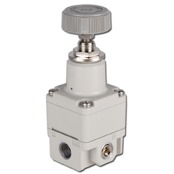 SMC Precision Pressure Regulator - 2.0 bar - Without Gauge - Manually Operated