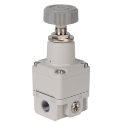 SMC Precision Pressure Regulator - 8.0 bar - without gauge - manually operated