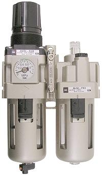 SMC Filterregler - 8,5bar 5µm + Tropfenöler man. Kondensatablass