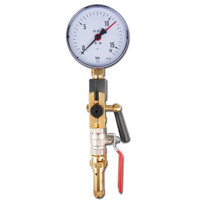 Standard Armaturensatz - für Druckluftbehälter - 11 und 16 bar