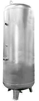 Cuve à vide et sous pression  - 2/-1 bar - position verticale  - contenu 100 l