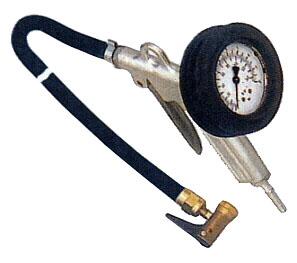 Gonfleur de pneus - DN 7,2 - plage de pression jusque 10 bar - non calibré - Ø m