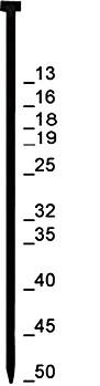"""Stauchkopfnagel """"Typ J"""" - verzinktv, VA - 13-50 mm lang"""