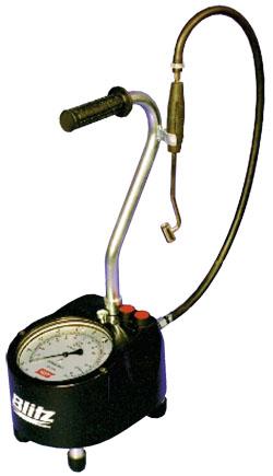 Gonfleur de pneus portatif - réservoir d'air 6 l - pression de remplissagejusqu'
