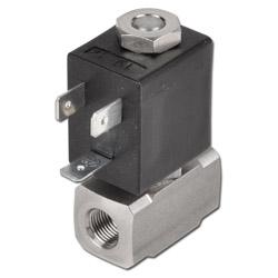 Magnetventil - 2/2-Wege - Druckluft Wasser Öl und aggressive Medien - 0 bis 16 b