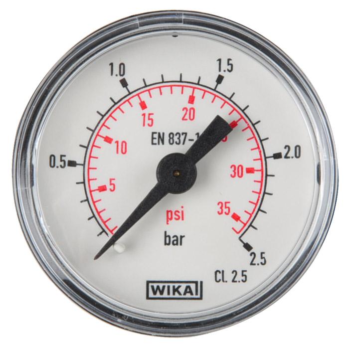 SMC Präzisions-Druckregler - 2,0 bar - ohne Manometer - manuell betätigt